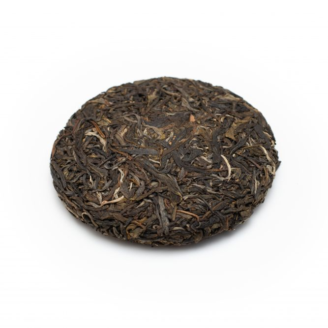 China Raw Pu Erh Beeng Cha Organic* 100 g